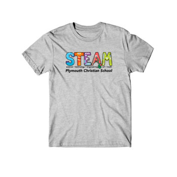 PLYMOUTH - STEAM - YOUTH - LIGHT GRAY HEATHER Thumbnail