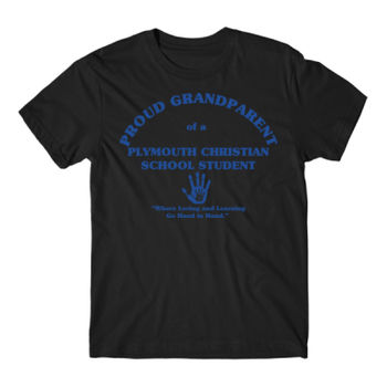 PLYMOUTH - PROUD GRANDPARENT - ADULT - BLACK WITH BLUE Thumbnail