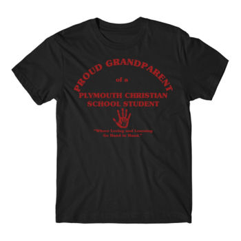 PLYMOUTH - PROUD GRANDPARENT - ADULT - BLACK WITH RED Thumbnail